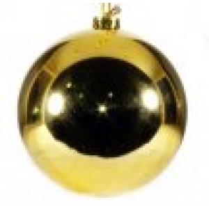 арт.Н0626 Шар глянцевый, d=15см, цвет-золото